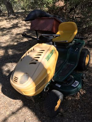 Riding mower and trailer for Sale in Chico, CA