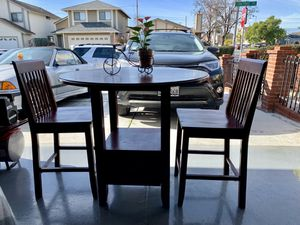 Table from Target: 3 piece Storage Pub Set for Sale in Hayward, CA