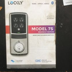Lockly Model 7s Deadbolt Edition for Sale in Lynn,  MA