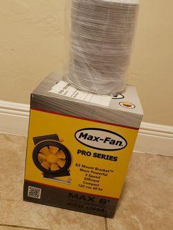 """Can_Fan Pro Series 6"""" 420 CFM Inline Fan for Sale in Miami,  FL"""