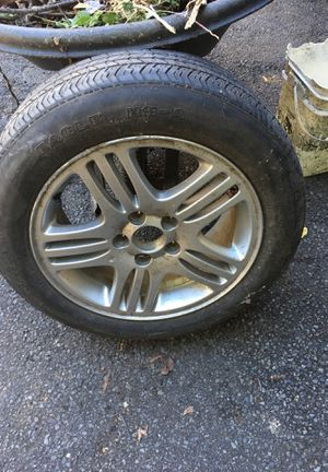 "16"" rims and tire good year eagle RS-A for Sale in Boston, MA"