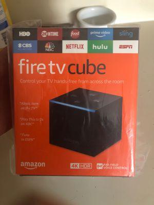 Amazon fire tv cube for Sale in Valrico, FL