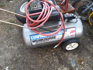 Campbell Hausfeld Compressor for Sale in West Bloomfield Township, MI