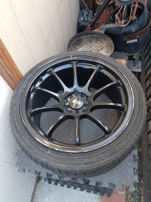 STR rim's with tiers for Sale in Los Angeles, CA