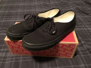Black Vans - Size 11 (Worn Twice) for Sale in Cary, NC