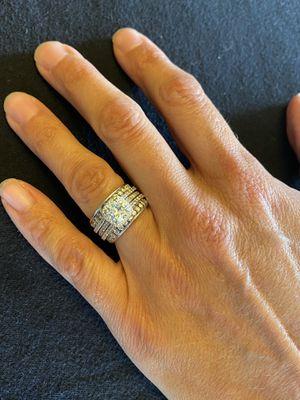Wedding ring set for Sale in Maylene, AL