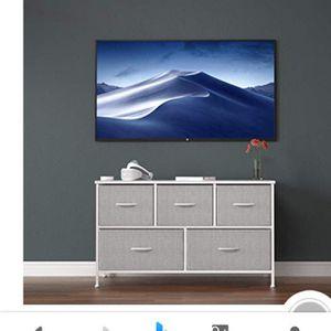 Allzone Dresser 5 Drawer Foldable New for Sale in Phoenix, AZ
