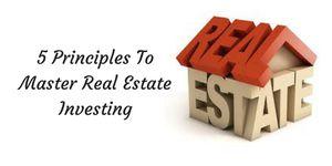 5Principles To Master Real Estate Investing for Sale in Atlanta, GA
