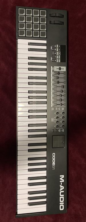 M Audio Code 61 MIDI Controller for Sale in MONTGOMRY VLG, MD
