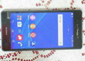 Like New Sony Ericsson Xperia z3v T-Mobile/MetroPCS/AT&T/Cricket Phone Unlocked Clear ESN Black for Sale in Glendale, AZ