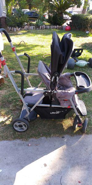 Kids double seat stroller for Sale in Santa Fe Springs, CA