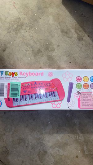 37 Keys Piano Keyboard for Kids Multifunction Portable Piano Electronic Keyboard Music Instrument for Kids Early Learning Educational Toy for 3-10 Ye for Sale in Rancho Cucamonga, CA