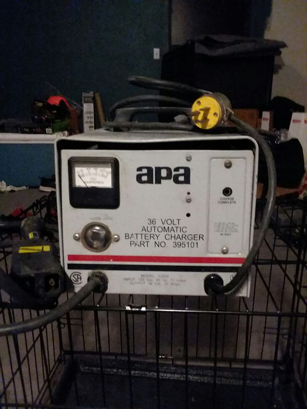 apa 36v golf cart charger