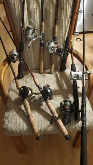 Fishing rods for sold separately for Sale in Joliet, IL