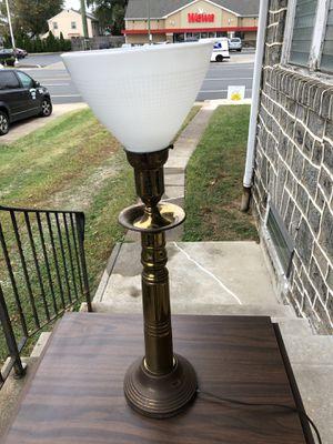 Heavy Brass Art Deco Table Lamp for Sale in Philadelphia, PA