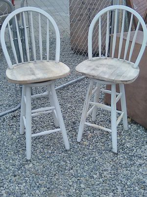 Pair of bar stools for Sale in Fresno, CA