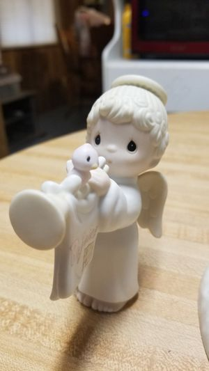 Set of 3 Precious Moments Christmas figurines for Sale in Glendale, AZ