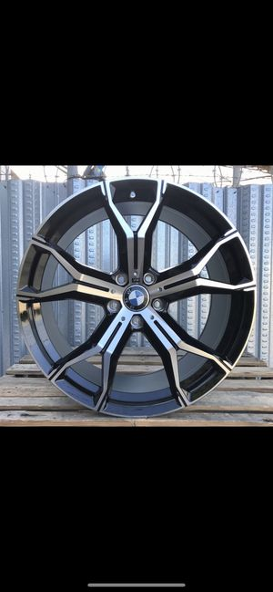 "BMW X5 20"" new m style rims tires set for Sale in Hayward, CA"
