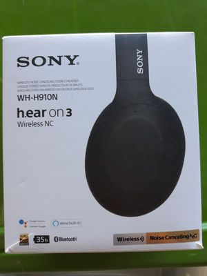 Sony Bluetooth Noice cancelling High Resolution Headphones Sony WH-H910N for Sale in Murphy, TX
