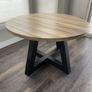 Farmhouse Modern Round Table Custom Sizes Available for Sale in Henderson, NV