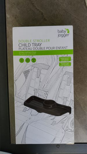 NEW Baby Jogger Double Stroller Child Tray for Sale in Arcadia, CA