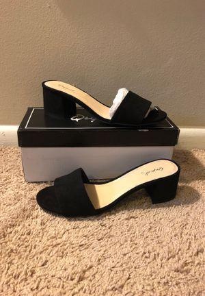 Block heel slide sandals for Sale in Washington, DC