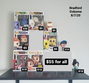 Funko Pop Vinyl Collection Toy Doll for Sale in Round Rock, TX