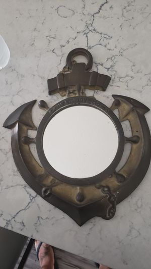 Brass Anchor Mirror for Sale in Canyon Lake, CA