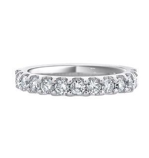 1 carat t.w. Diamond Wedding Band in 14k white gold for Sale in Atlanta, GA
