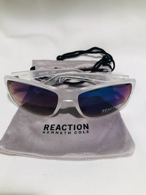 NEW Kenneth Cole Clear Sunglasses mirror lens! for Sale in Huntington Beach, CA