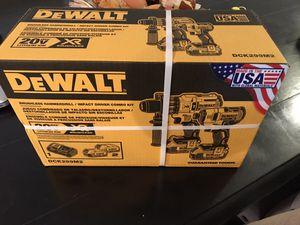 Dewalt 20v Brushless 3 Speed Hammerdrill and Impact for Sale in Gilbert, AZ
