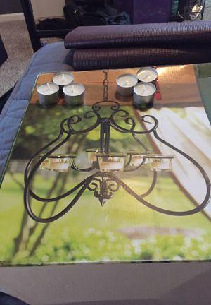 Gothic candle holder/6 tea light chandelier for Sale in Smyrna, TN