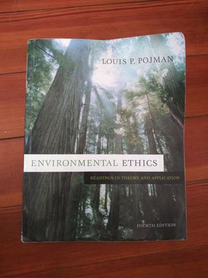 """""""Environmental Ethics Readings in Theory and Application"""" for Sale in Hanson, MA"""
