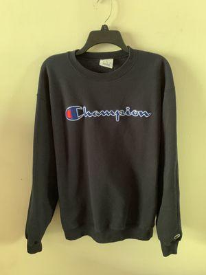 Champion sweatshirt size L for Sale in Norcross, GA