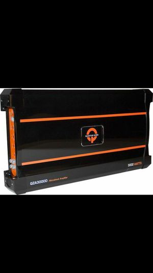Quantum Audio QZA3000D Amplifier for Sale in Raleigh, NC