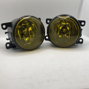 Replacement Fog Lamps Fit Accord 2Dr CR-Z Civic Si CR-V Pilot Fit Yellow for Sale in Pomona, CA
