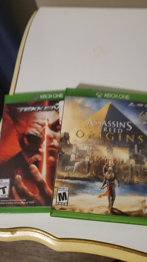 Assassins creed,and tekken 7 for Sale in Farmville, VA