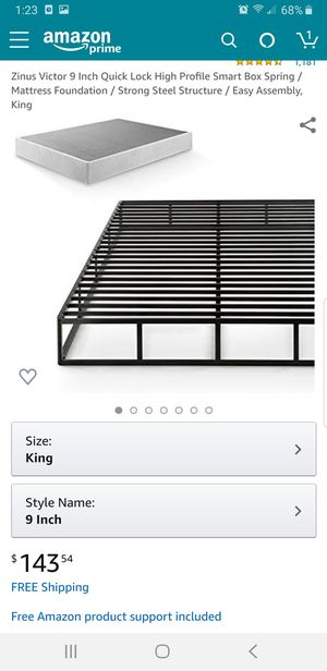 Box Springs ALL SIZES MATTRESSES. queen full twin. Platform beds! NEW IN BOXES! for Sale in Phoenix, AZ