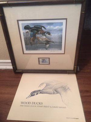 David Maass Print and Stamp for Sale in Corpus Christi, TX