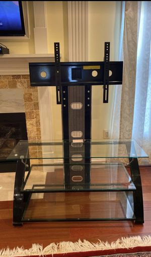 Large TV Stand Holds up to 150lbs or 40 - 90 inch for Sale in Sterling, VA