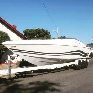 32 feet speed boat with 2 new engines for Sale in Anaheim, CA
