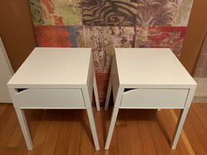 Metal Side / End Tables / Nightstands (x2) for Sale in Seattle, WA