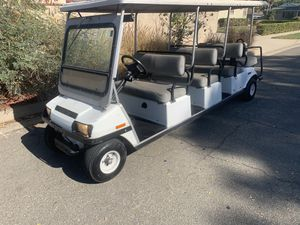 Club car golf cart 8 passenger limo for Sale in Corona, CA