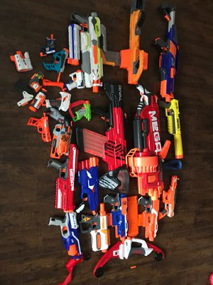 Nerf toys rival mega package for Sale in San Dimas, CA