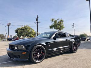 2005 FORD MUSTANG SALEEN STAGE 3 SUPERCHARGED CLEAN TITLE // ss srt8 cobra Shelby SALEEN notchback sti evo lightning rebel raptor amg SILVERADO z71 r for Sale in Downey, CA