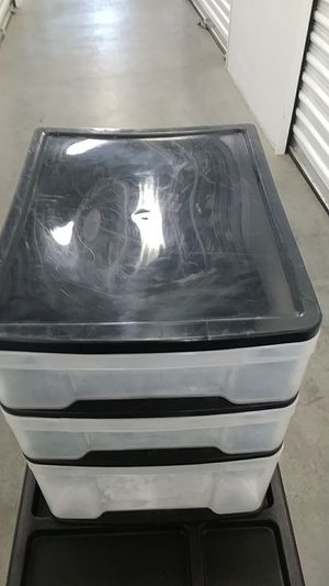 12.5 X 10 Black plastic drawer piece. for Sale in Los Angeles, CA