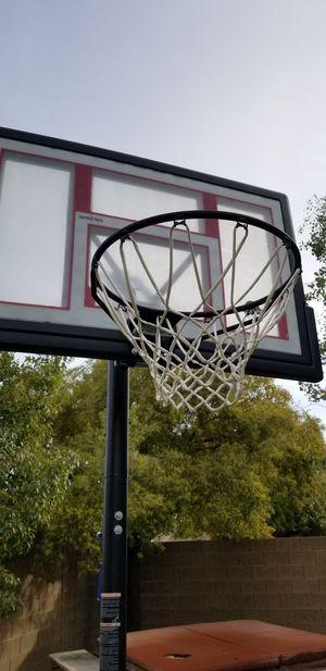 Lifetime basketball portable hoop for Sale in Las Vegas, NV