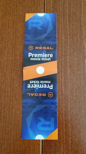 Regal Premier Movie tickets for Sale in Issaquah, WA