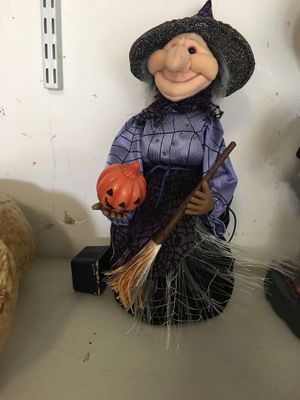 Halloween light up witch for Sale in Riverview, FL