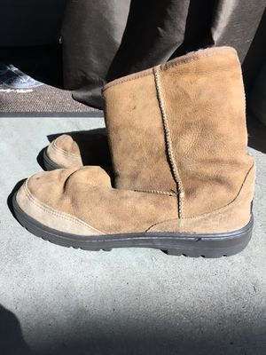 Men's UGG boots, great condition barely worn. Size 11 for Sale in Las Vegas, NV